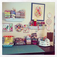 Sew Peachey studio