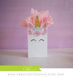 Bolsa Favor de unicornio unicornio Favor cumpleaños