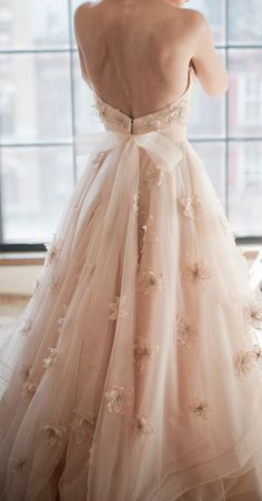 Blush dress perfection