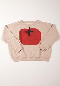 TO WEAR (Sweat shirt LS r/neck Tomato/ bobo choses)