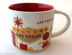 Starbucks Las Vegas You Are Here coffee mug