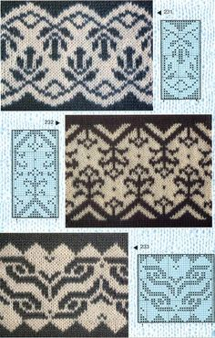 Norwegian chart. Love the Blue and White. Could work for Embroidery as well. Or tapestry.