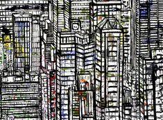Acrylic 64 x 76 Urban Life, Pedestrian, City Photo, Toms, New York, Black And White, Gallery, Modern, Artwork
