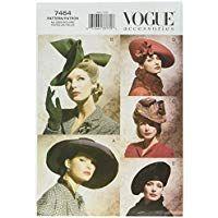 Elegant Modisch Schnittmuster zum N/ähen 6-14 Extravagant Vogue V8727 VGE A5