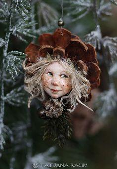 Pixie girl Selma handmade decoration