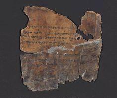 Genesis, 1st chapter - Dead Sea Scrolls