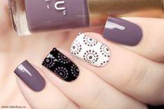 ¿Qué te parece? Colorful Nail Designs, Acrylic Nail Designs, Nail Art Designs, Shellac Nails, Acrylic Nails, Diy Nails, Trendy Nails, Cute Nails, Nailart