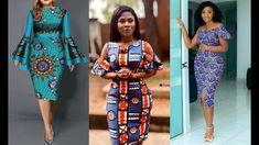Latest Ankara Dresses, Ankara Styles, Ankara Skirt And Blouse, African Women, Dresses For Work, Stylish, Lady, Skirts, Fashion