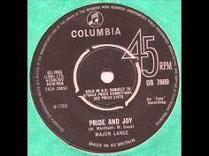 ▶ Major Lance - Pride and Joy - (UK) Columbia Mod Soul 45