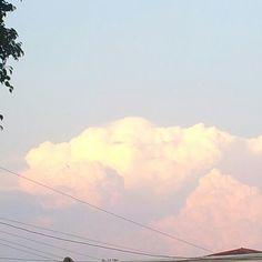 Nubes de algodón! :D jajaja