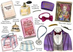 How To Do 'Grand Budapest Hotel' Style (illustrated by Cindy Mangomini)