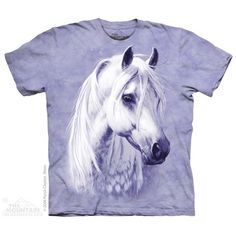 The mountain Moon Shadow Horse T-shirt (large child 30-32
