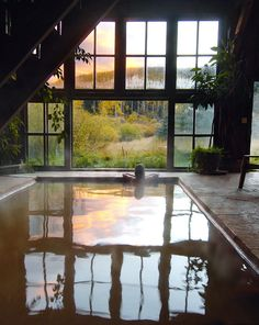 Dunton Hot Springs, Colorado is located in the mountains near Telluride and would make for a perfect romantic escape.