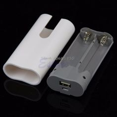 Mobile Power Case Box Usb 18650 Battery Cover Keychain For Iphone Samsung Mp3 Free Shipping Drop Shipping Firm In Structure Consumer Electronics