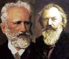 Compositores Brahms y Tchaikovsky nacieron un 7 de mayo.