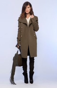 Ooooh that coat!