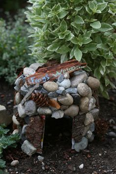 Create and decorate a toad home to attract wildlife to your backyard.