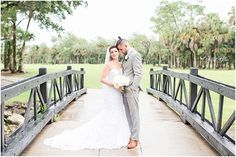 Romantic Golf Course Wedding at the Mayacoo Lakes Country Club Wedding in West Palm Beach, FL. | Palm Beach Wedding Photographer: Crystal Bolin Photography