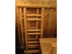 Full Size Log Bed