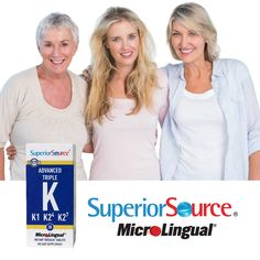 Advanced Triple K from #SuperiorSourceVitamins has #NoFillers, #NoBinders and is available at Puritan's Pride.