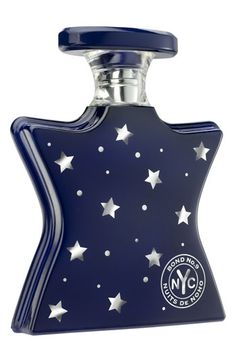 Bond No. 9 'Nuits de NoHo' - nighttime femininity - fruity-floral gourmand with notes of jasmine, creamy vanilla, and sheer patchouli. Slight crush on the starry packaging.
