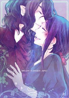 Kamigami no Asobi Hades x Yui