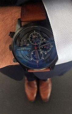 Bespoke timepiece by Maurice de Mauriac. Swiss handmade luxury watches for men and women.