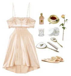 """""""Untitled #130"""" by kennahook ❤ liked on Polyvore featuring La Perla, Diptyque, Christian Dior, Guerlain and Dolce&Gabbana"""