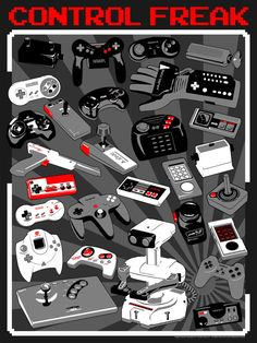 A great new Retro Gaming poster on Kickstarter!!!