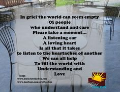 Understanding and Love A Poem | The Grief Toolbox