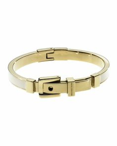 Michael Kors Exclusive Buckle Bangle, Ecru.