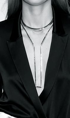 Elegant Simplicity - statement necklace, fashion details // Mulger Spring 2015