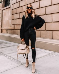 Outfit Jeans, Booties Outfit, Fall Booties, Suede Booties, Black Booties, Mode Outfits, Jean Outfits, Fashion Outfits, Looks Rock