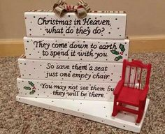 This will definitely sit on our table this Christmas to remind us of those we love are still with us.
