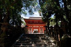 Entrance to Kasuga Shrine.