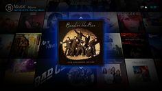 Bello 6 UI for Kodi.tv - MusicWall View