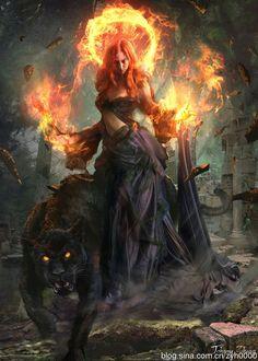 Avatars Rousses 5a1eb16e38ae3d48631ceedc30aa2427--fantasy-rpg-fantasy-women