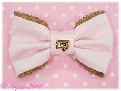 Royal Chocolate Barrette (Pink)