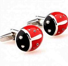Ladybug Insects Cufflinks http://astore.amazon.com/ahoy-20/detail/B012FX86F0