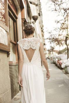 """Vestido Valeria espalda """"Memories of Madrid"""" Campaña nueva colección de vestidos de novia Beba's Closet www.bebascloset.com Foto @pipi_hormaechea Peluquería y maquillaje @reginacapdevila Joyas @beatrizpalacios_jewelry"""