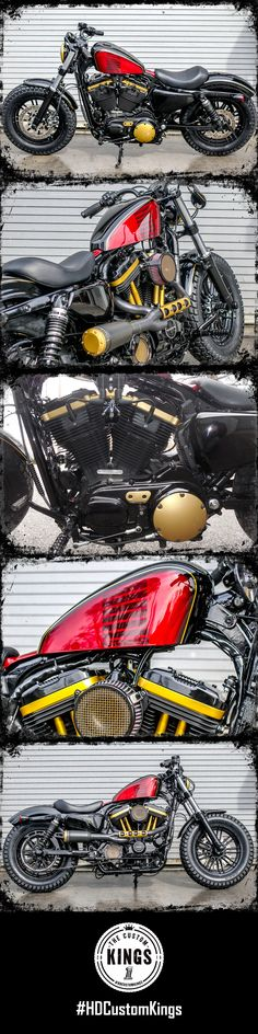 Built on the foundation of simple yet functional, Southside Harley-Davidson's Forty-Eight stays true to its roots. | Harley-Davidson #HDCustomKings