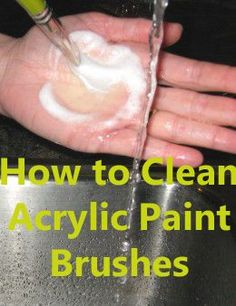 Craft Ideas Tips for Cleaning Acrylic Paint Brushes Acrylic Painting Ideas acrylic acrylic painting ideas BRUSHES Cleaning Craft ideas Paint tips Cleaning Paint Brushes, Acrylic Paint Brushes, Acrylic Painting For Beginners, Acrylic Painting Techniques, Acrylic Art, Art Techniques, Cleaning Tips, Acrylic Paintings, Brush Cleaning