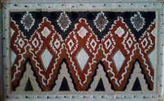 Desain Kofo Sangihe dalam Lukisan Pasir