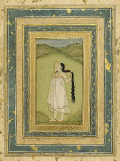 Indian miniature painting Provincial Mughal, late 17th/18th century