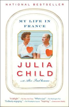 My Life in France by Julia Child  I LOVE this book and I am not a foodie. Paul and Julia Child had such a joyful relationship and it's such a fun read. This book was partially ghost written by her nephew because she was in her 90's and getting ill but he really captured her voice.