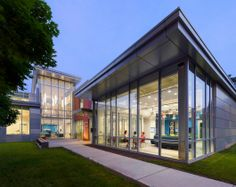 Grousbeck Center for Students & Technology | GUND Partnership; Photographer: Chuck Choi Architectural Photography | Bustler