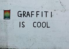 graffiti is cool
