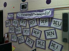 "The ""COMMAND""-ments: Command key shortcut display"