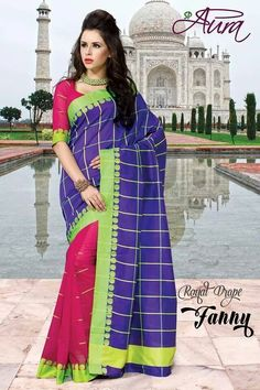 SOLD OUT code:ed blupnk Price:2999/- New Catalogue, Endless Love, Happy Shopping, Blouse Designs, Love Story, Cool Designs, Sari, Elegant, Cotton