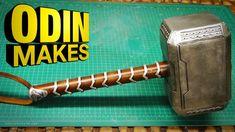 Odin Makes: Thor's hammer from Thor: Ragnarok - YouTube
